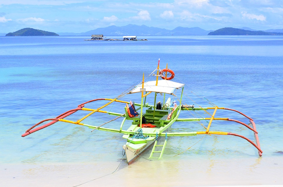 Philippines, Island, Palawan, Port Barton, Beach