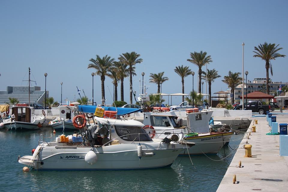 Harbor, Boats, Port, Marina, Greece, Greek Islands, Kos