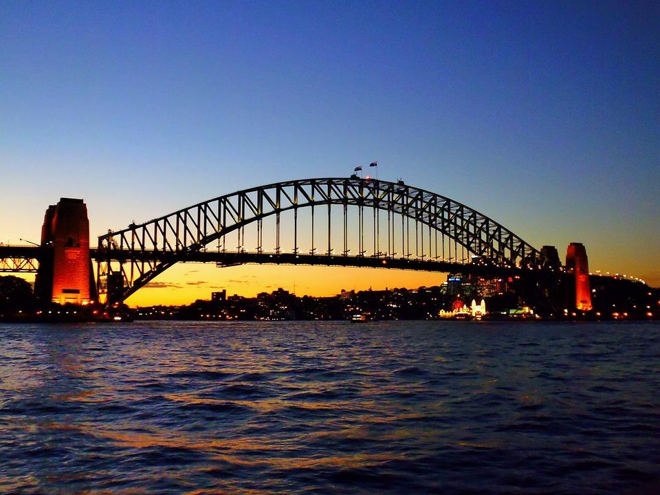 Bridge, Sydney, Tourist Attraction, Port, Australia