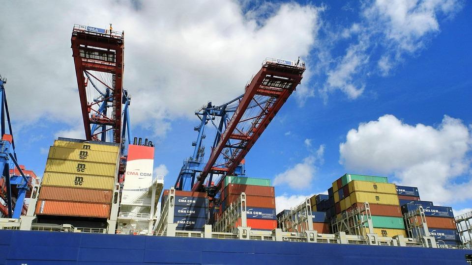 Harbour Cranes, Port, Port City, Container