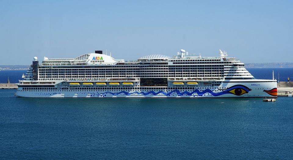 Aida Perla, Cruise Ship, Port, Cruise, Water, Sea