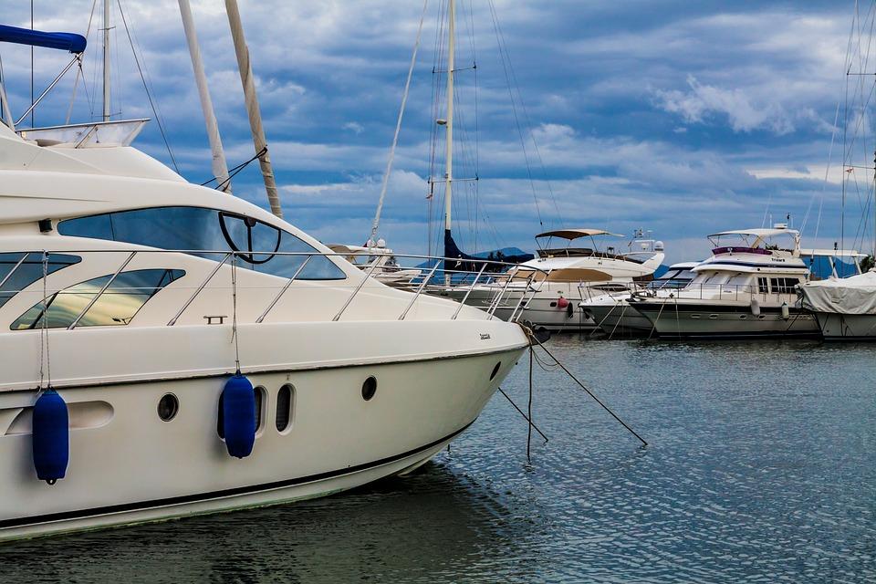 Yacht, Mallorca, Port De Alcudia, Sea, Sailing Boat