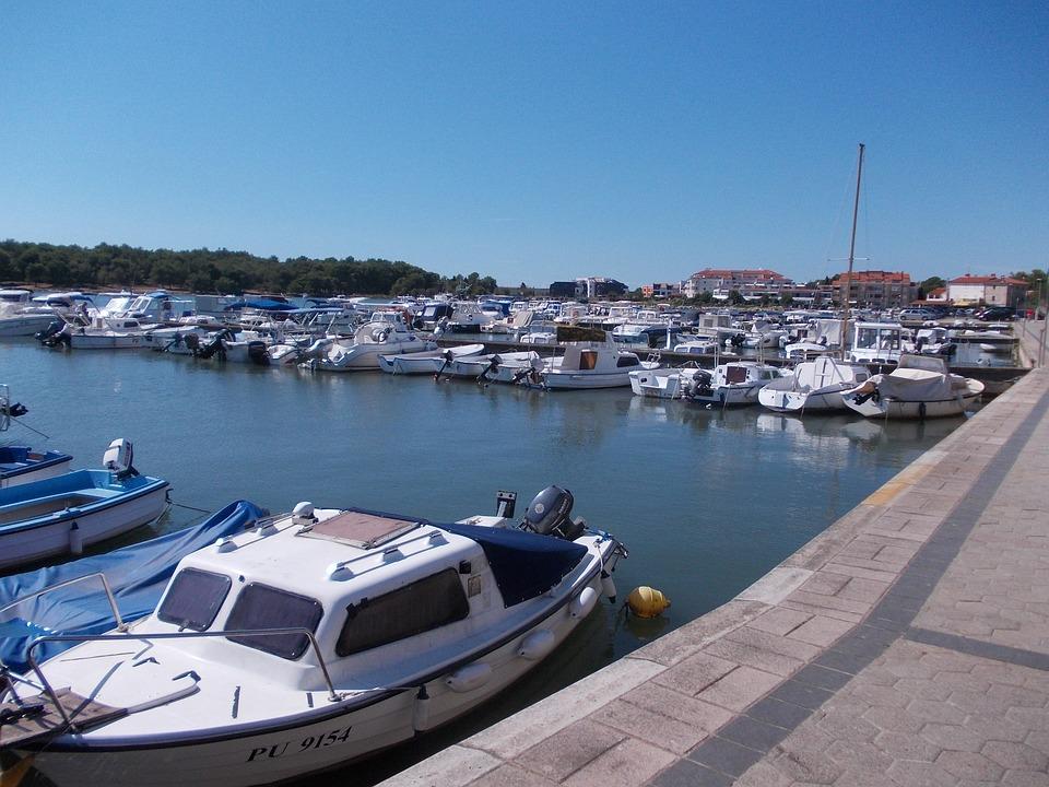 Sea, Port, Boats, Fishing Boat, Croatia