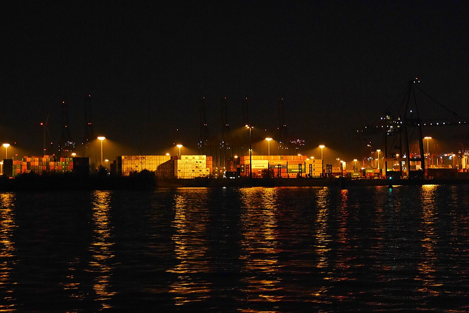 Hamburg, Port, Freight Harbor