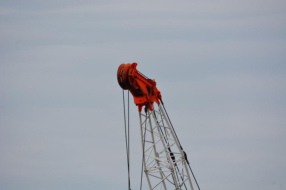 Hamburg, Construction Hut Ship, Port, Crane