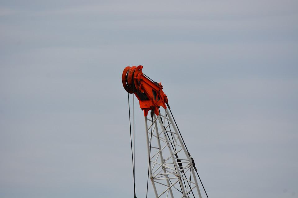 Technology, Hamburg, Construction Hut Ship, Port, Crane