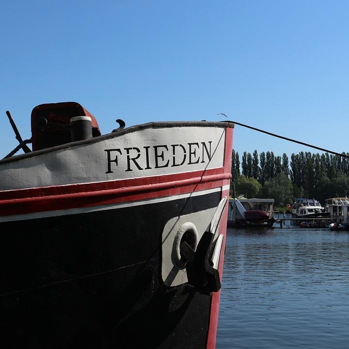 Harmony, Boot, Ship, Berlin, Rummelsburg, Booked, Port