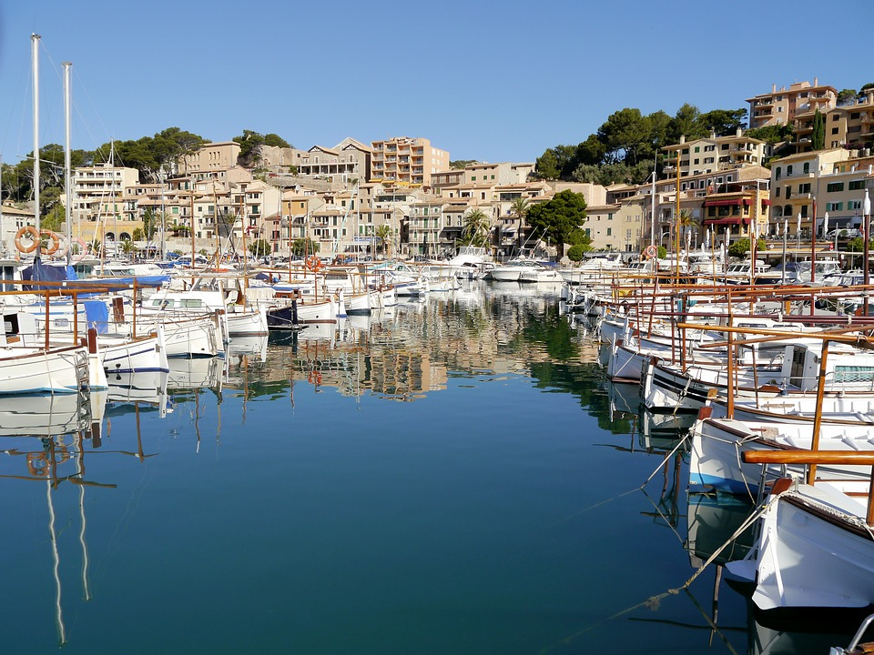 Spain, Mallorca, Coast, Port, Port De Sóller