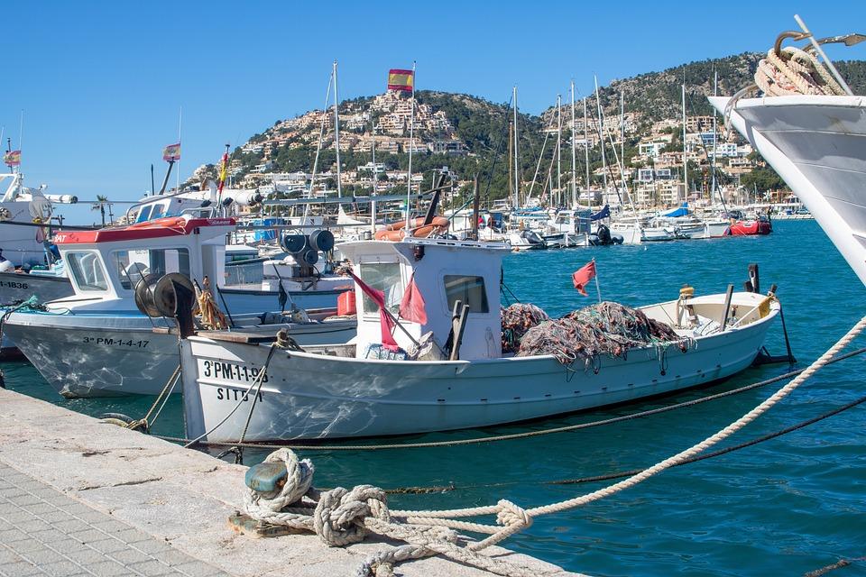 Mallorca, Port D'andratx, Port Andratx, Sea, Port