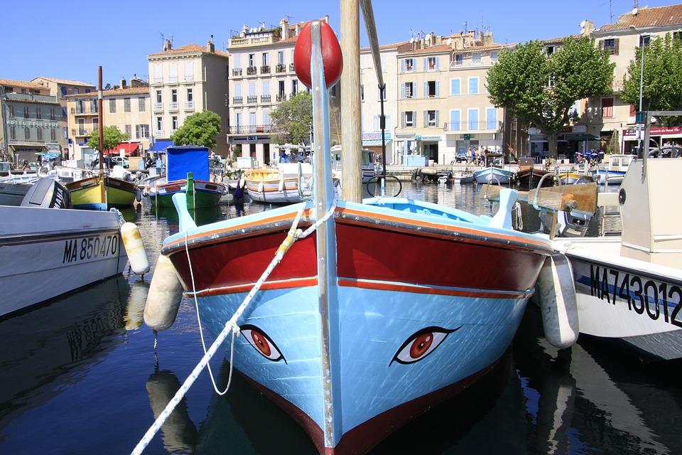 Boat, Marseille, Port