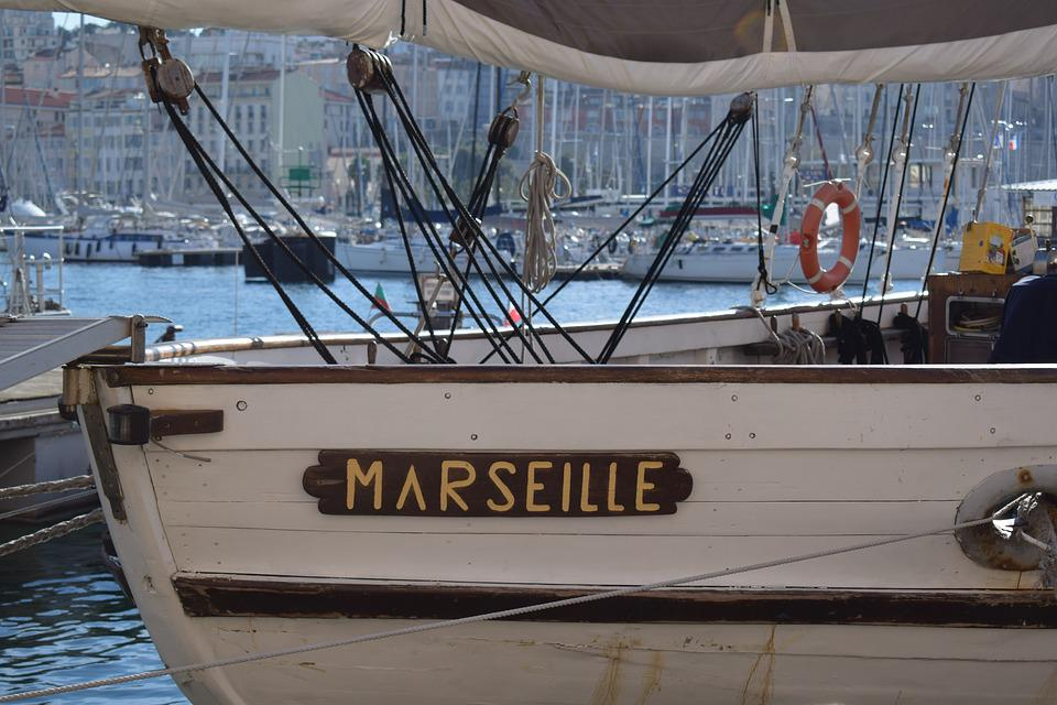 Marseille, Port, Boat, Mediterranean, France, Sea