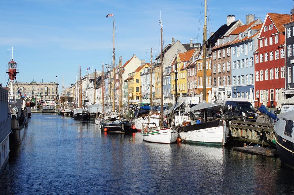 Copenhagen, Port, Boat, Merchant House