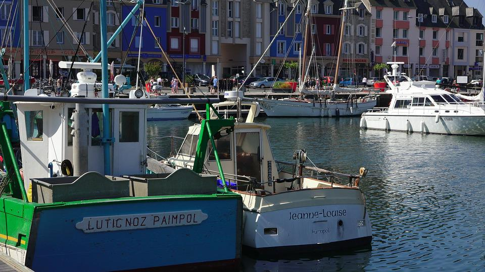 Brittany, Paimpol, Port