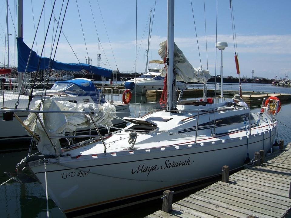 Sailing, Sailboat, Marin, Port, Navigation, Sea, Ship