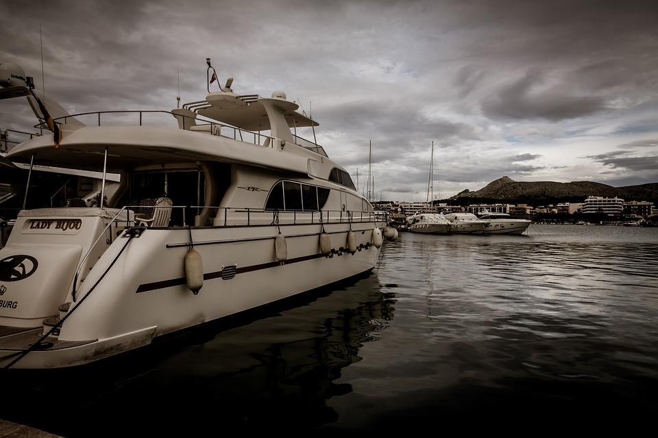 Yacht, Mallorca, Sea, Water, Sailing Boat, Port, Boat