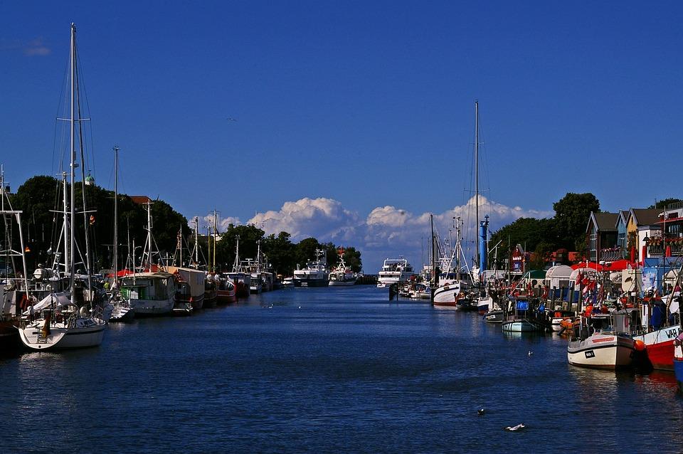 Warnemünde, Port, Ship, Baltic Sea, Water, Tourism