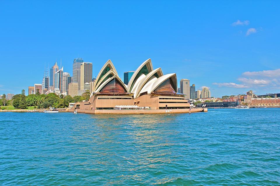Australia, Sydney, Opera, City, Port, Skyline