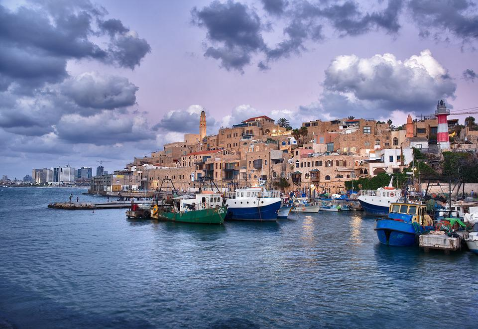 Jaffa, Port, Israel, City, Sea, Travel, East, Aviv, Tel