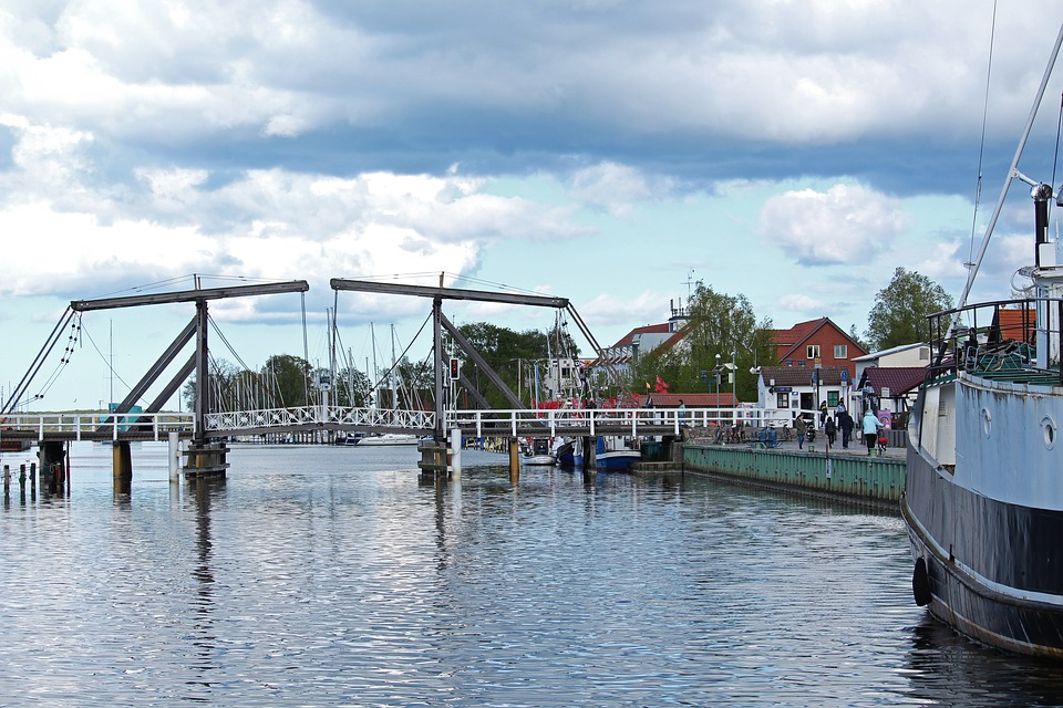 Greifswald Wieck, Ryck, Port, Wieck, Fishing Village