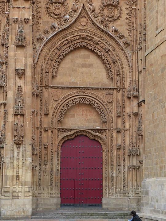 Portal, Salamanca, Spain, Historically, Castile, Facade