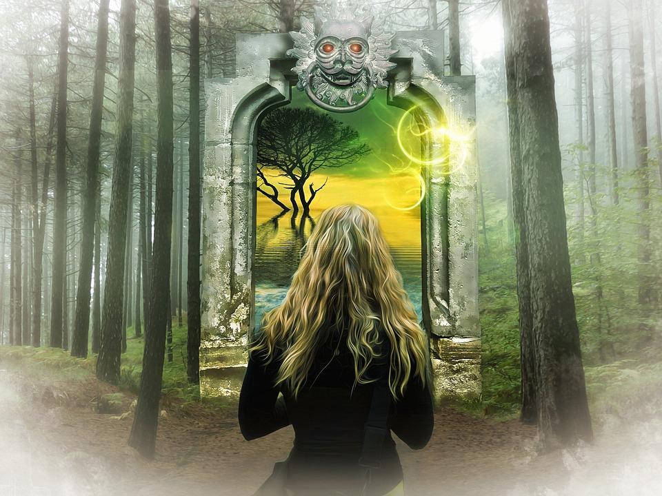 Magic Fantasy Art Portals