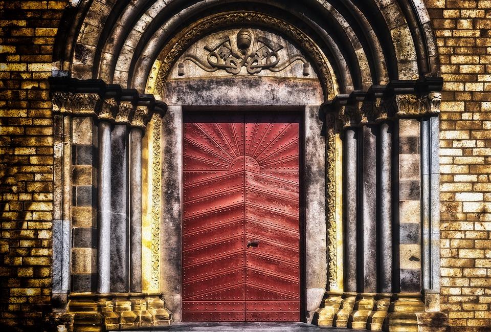 Goal, Gate, Portal, Door, Old, Input, Historically