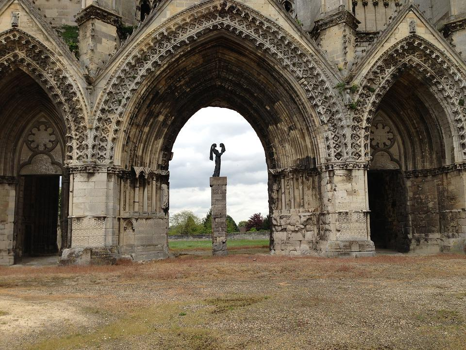 Church, Soisson, Portal, Religion