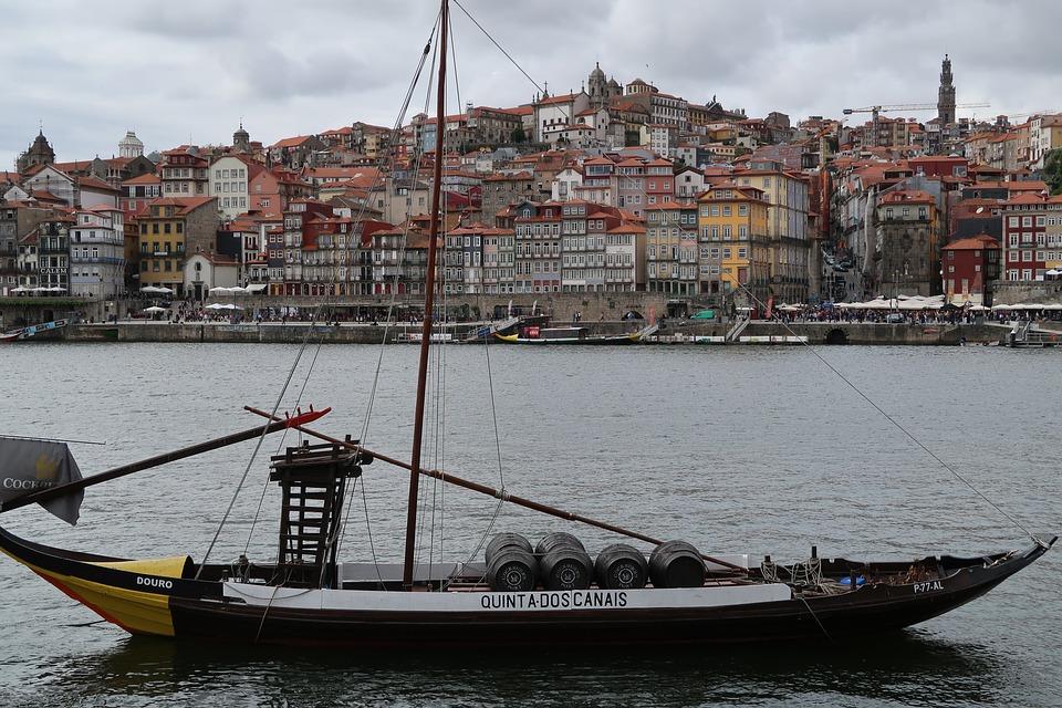 Porto, River, Boat