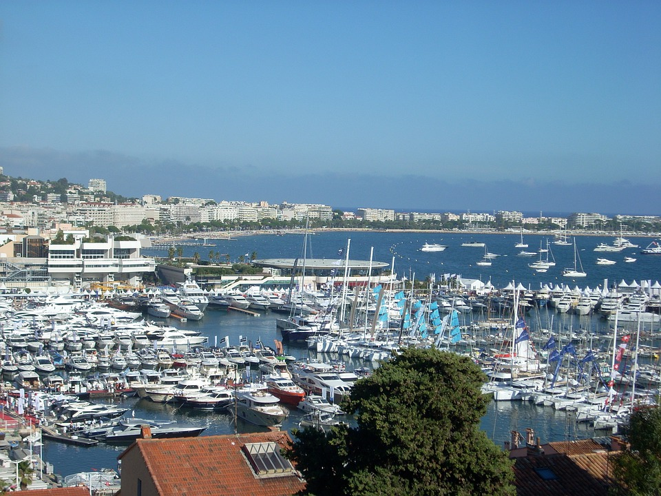 Cannes, Porto, French Riviera, Boats
