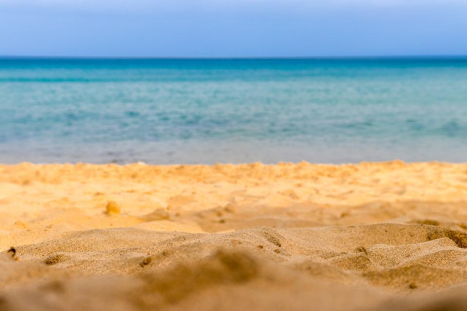 Porto Santo, Sand, Beach, Mar, Water, Blue, Wave, Hdr
