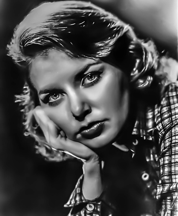 Joanne Woodward Female, Portrait, Hollywood, Actress