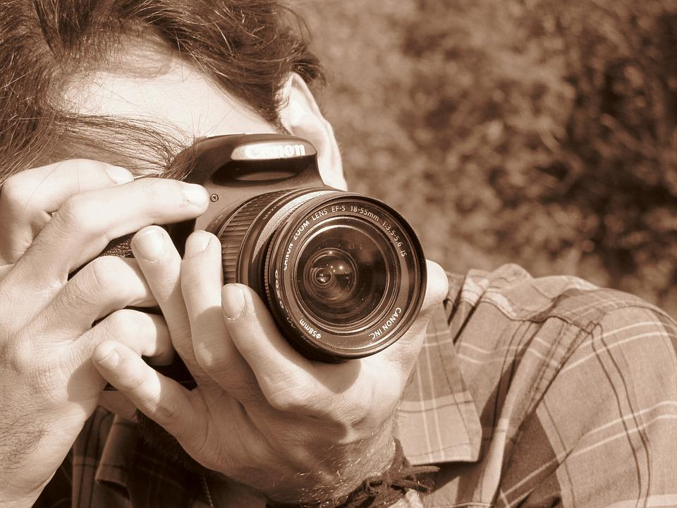 Camera, People, Portrait, Young, Person, Solo, Cute