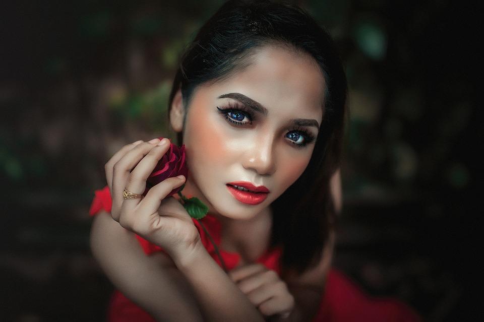 Fashion, Woman, Portrait, Beautiful, Glamour, Elegant