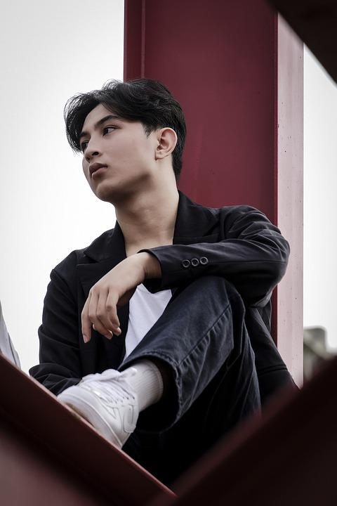 Man, Model, Portrait, Pose, Style, Fashion, Posing