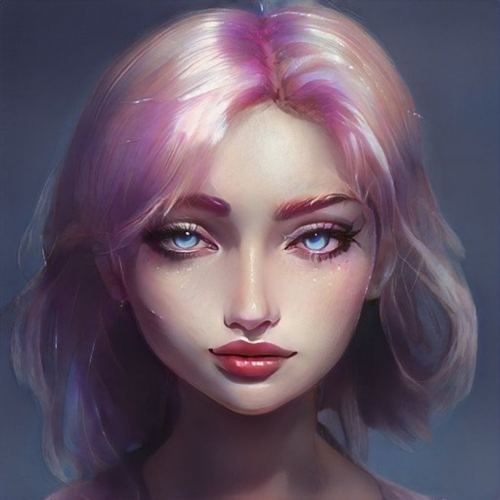 Woman, Face, Avatar, Character, Female, Portrait
