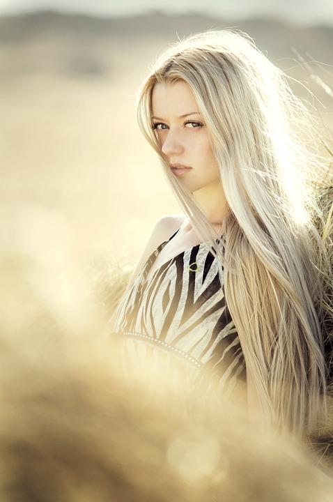 Woman, Portrait, Girl, Blond, Hair, Beauty, Face