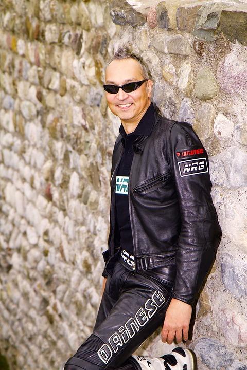 Human, Man, Portrait, Leather Jacket, Leather Clothing