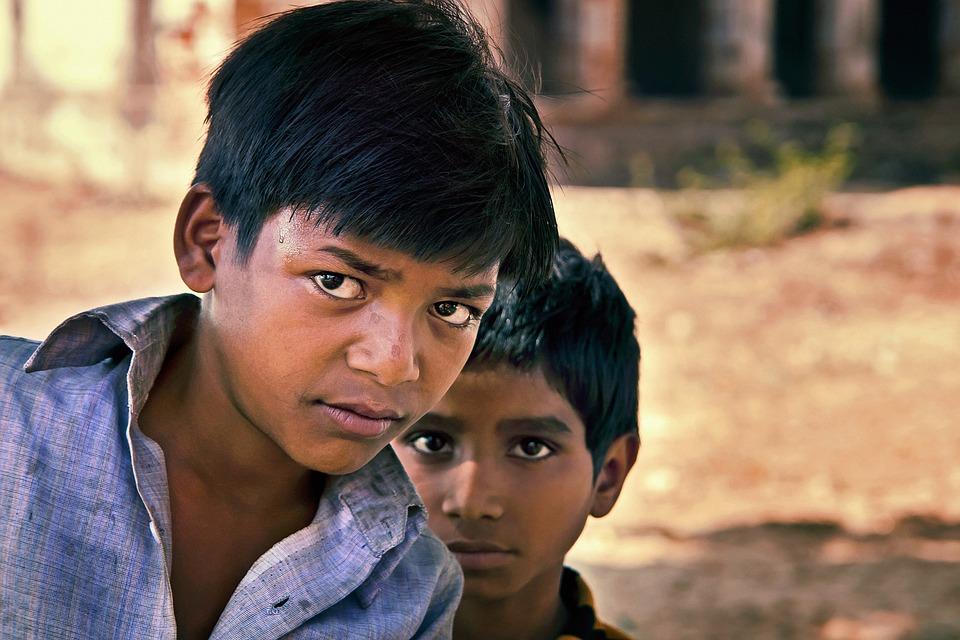 Boys, Indian, Portrait, Children, Kids, Young, Male