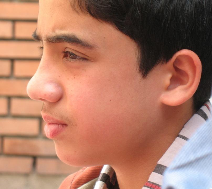 Portrait, Boy, Looking, Teenager