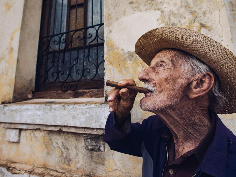 Portrait, Man, People, Cuba, Person