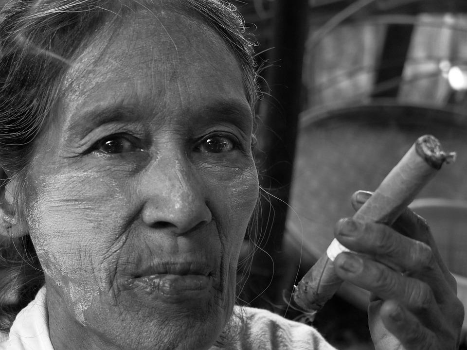 Burma, Myanmar, Asia, Market, Traditional, Portrait