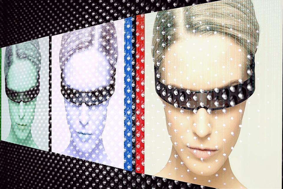 Popart, Edit, Model, Portrait, Girl, Blond, Face, Human