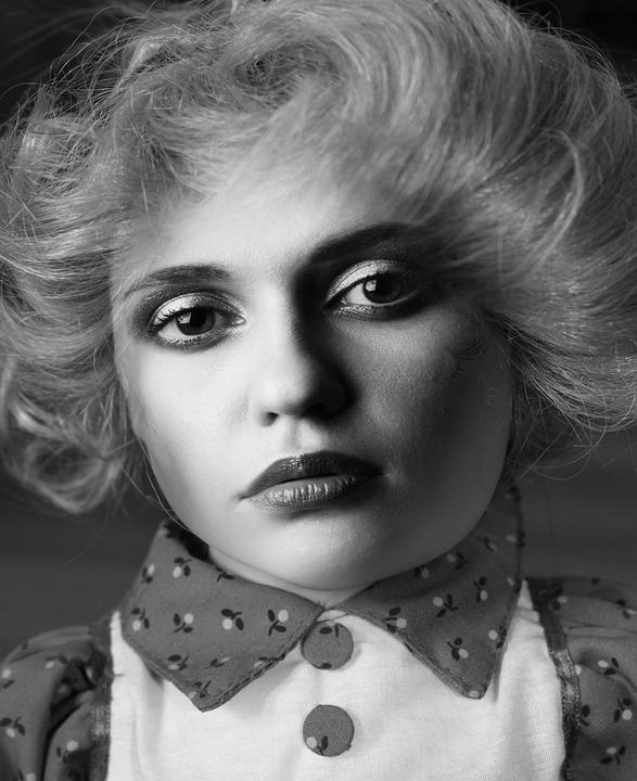 Face, Woman, Skuriel, Portrait, Eyes, Mouth, Lips