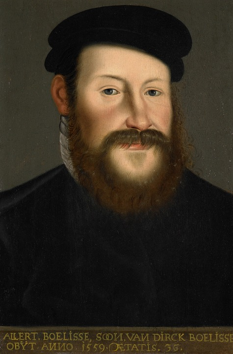 Allert Boelisse, Oainting, Museum, Portrait, Person