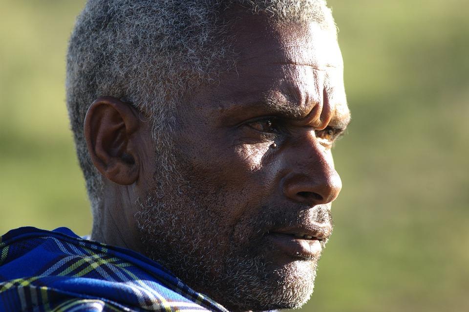 Portrait Of A Black Man, Tanzania United Republic