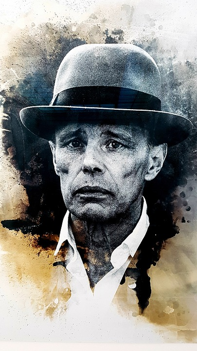 Joseph Beuys, Portrait, Ink-jet Printing, Photographer