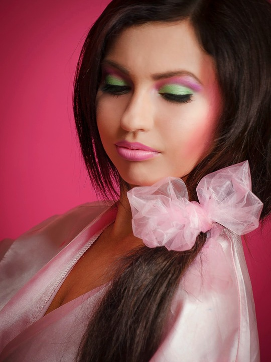 Barbie Girl, Pink, Brunette, Woman, Barbie, Portrait