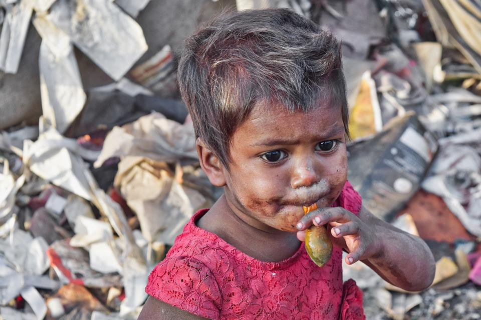People, Child, Portrait, Girl, Poor, Slums, India