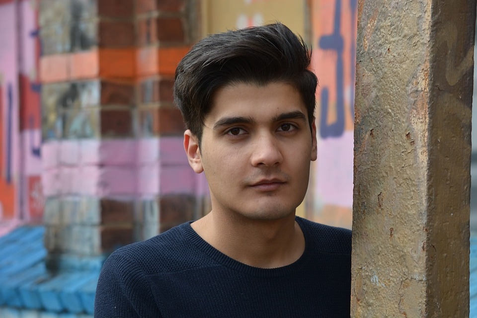 Refugee, Young Man, Portrait, Male, Person, Afghanistan