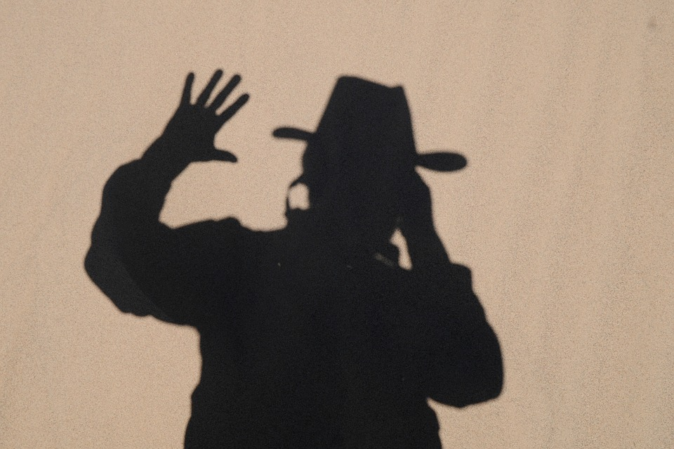 Shadow Play, Portrait, Sand, Hispanic